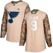Sammy Blais St. Louis Blues Adidas Youth Authentic Veterans Day Practice Jersey - Camo